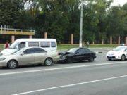 Авария в центре города
